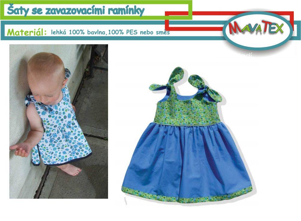 šaty dětské