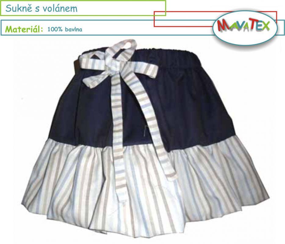 sukně dětská