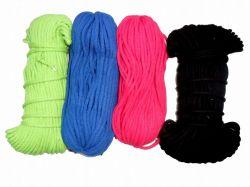 Oděvní tkanice černá- tkanice k teplákům, stahovací tkanice, šňůrka na stahování kalhot vyrobeno v EU