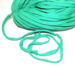 Plochá tkanice zelená 1cm