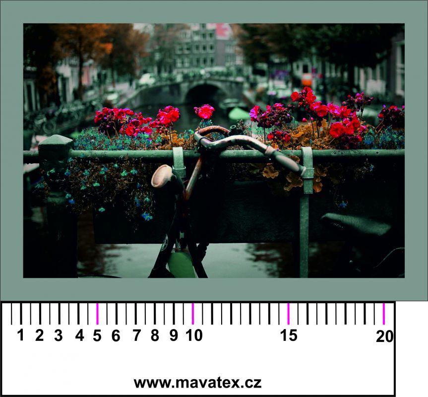 Panelový tisk - holandská pohlednice - obrázky na látce, designový tisk, tisk na přání Tukan