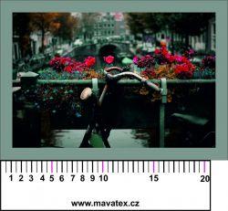 Panelový tisk - holandská pohlednice-satén