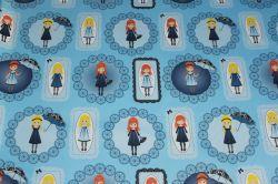 Panenky Zdišenky -panel velký modrý -kepr