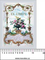 Panelový tisk -EX libris -satén