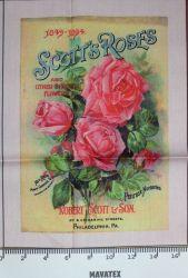 Panel skotská růže-kepr