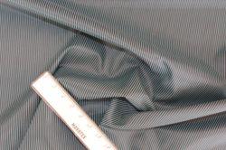 Podšívka černá se zelenými pruhy – 2 jakost