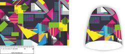 Panel na čepice SKEJŤAČKA - geometrické tvary
