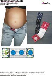 Návody šití těhotenský pásek Mavatex