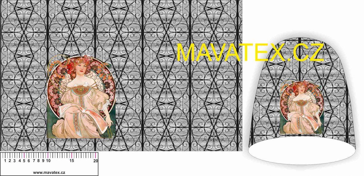 Panel na čepice SKEJŤAČKA- -mucha vyrobeno v EU