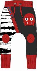 Panel na tepláčky - červená příšerka- 2jakost