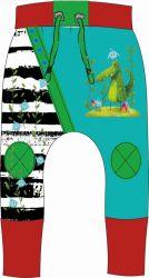 Panel na tepláčky - krokodýl