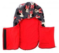 Papírový střih-Kukla s předním zapínám- střih na čepici, šijeme čepici, jak ušít čepici Mavatex