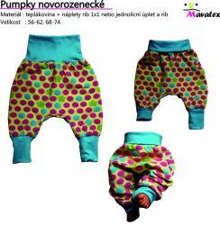 Papírový střih-Pumpky novorozenecké Mavatex