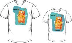 Nášivka na triko- malá a velká Mavatex