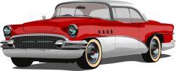 auto červené - aplikace k našití-kepr
