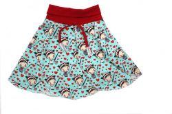 Papírový střih-sukně Amálka