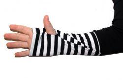 Papírový střih - triko raglán sportovní slim fit pro hubeňoury Mavatex