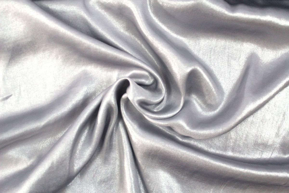 šatovka stříbrná lehká a vzdušná- umělé hedvábí- koshibo vyrobeno v EU