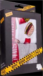 Trenky - 2double pack - burger - dětský trenky vyrobeno v EU