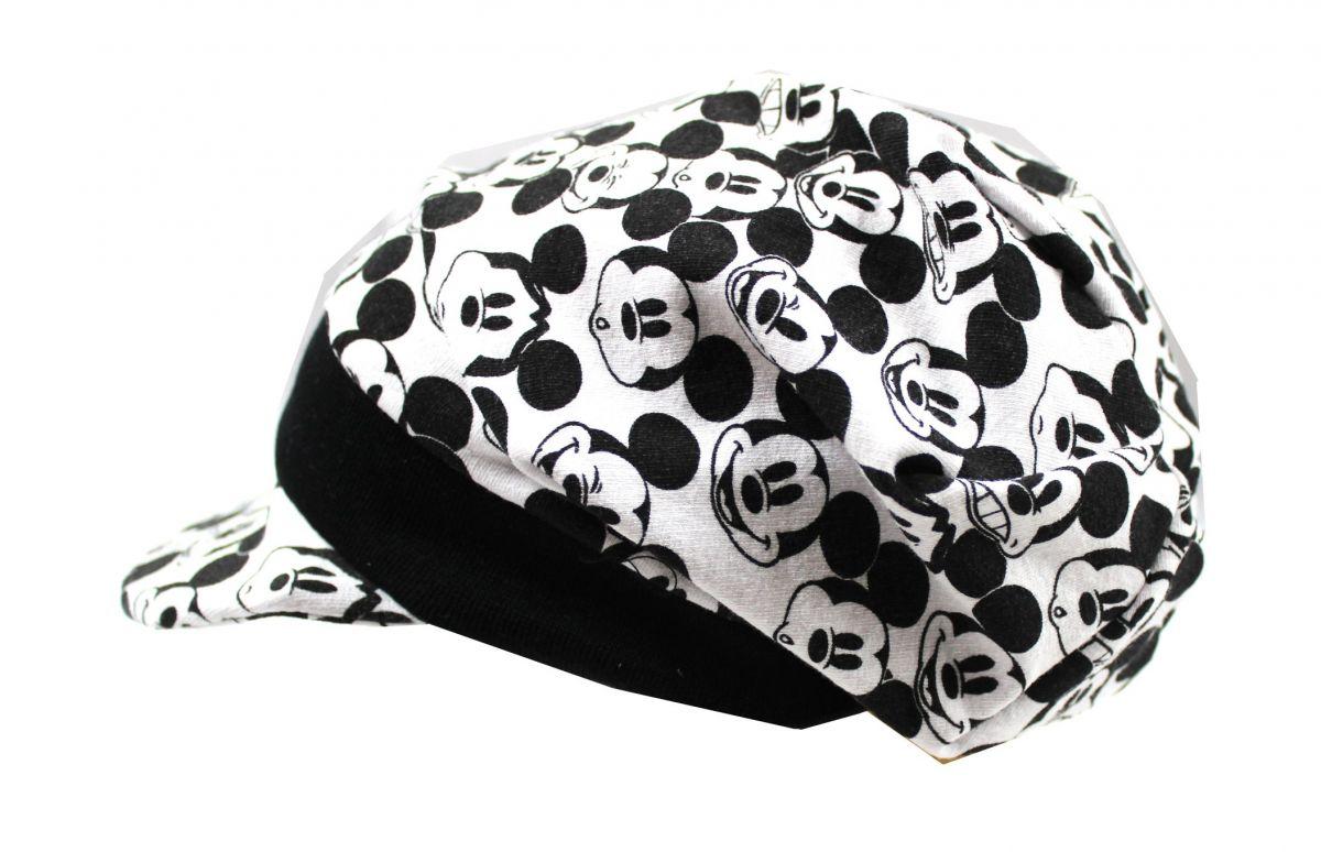 Papírový střih-Čepice úpletová s kšiltem- šijeme čepici, jak ušít čepici Mavatex