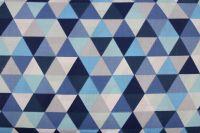 Modro-bílé trojúhelníky