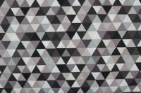 Šedo-černé trojúhelníky - MALÉ