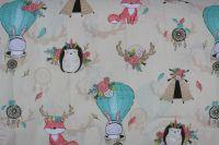 Béžová bavlna zvířátka s lapačem snů