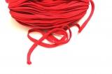 Plochá tkanice  červená 1cm