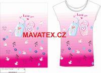 Panel na triko - zamilovaní bubáci