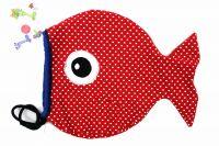 Papírový střih -Sáček na bačkůrky oboustranný - rybička