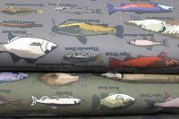 Kepr army ryby-digitální tisk vyrobeno v EU- atest pro děti bavlna