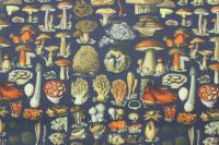 Kepr army houby -digitální tisk
