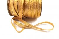 Brokátová paspulka zlatá 0,3 cm