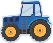 Pyžamožrout  -traktor modrý