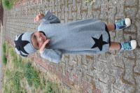 Papírový střih - šaty balonové s kulatým výstřihem mavatex