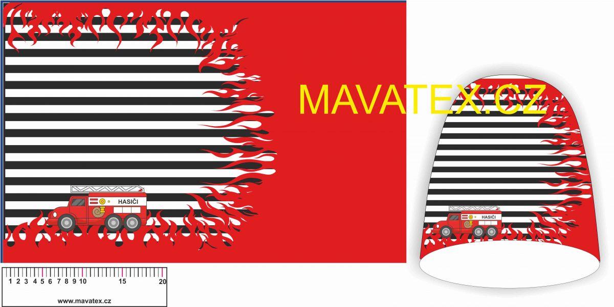 Panel na čepice SKEJŤAČKA - HASIČI Mavatex