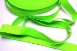 Tkanice plochá svítivě zelená -2 cm Vyrobeno mimo EU