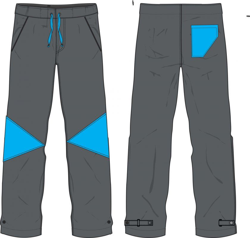 Papírový střih -Soft kalhoty slim fit Mavatex
