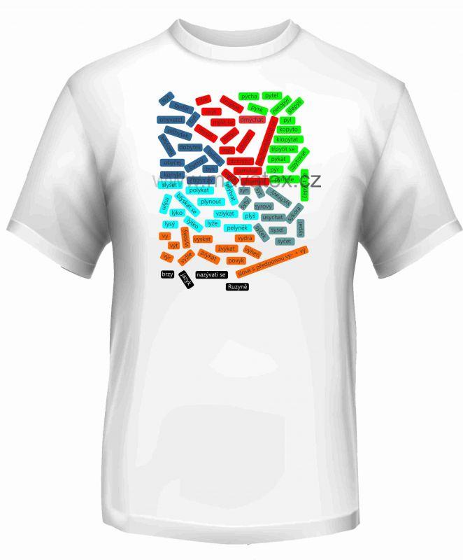 Panel triko - vyjmenovaná slova -2 vyrobeno v EU