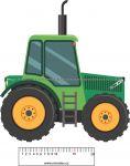 Pyžamožrout  -traktor zelený