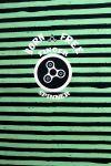 Softshell panel LETNÍ - spinery zelené pruhy -2 jakost