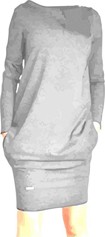 Papírový střih - DÁMSKÉ šaty AGÁTA se spodním rantlem -A1 Mavatex