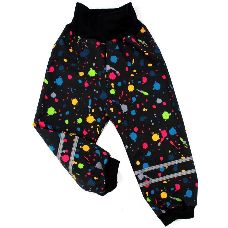 Papírový střih -Softshellové kalhoty BASIC Mavatex