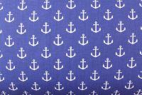 Modrá marina s kotvičkami