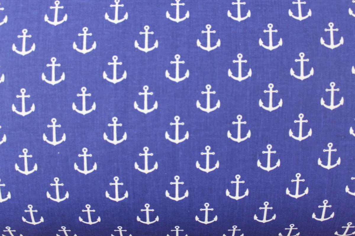 Modrá marina s kotvičkami vyrobeno v EU