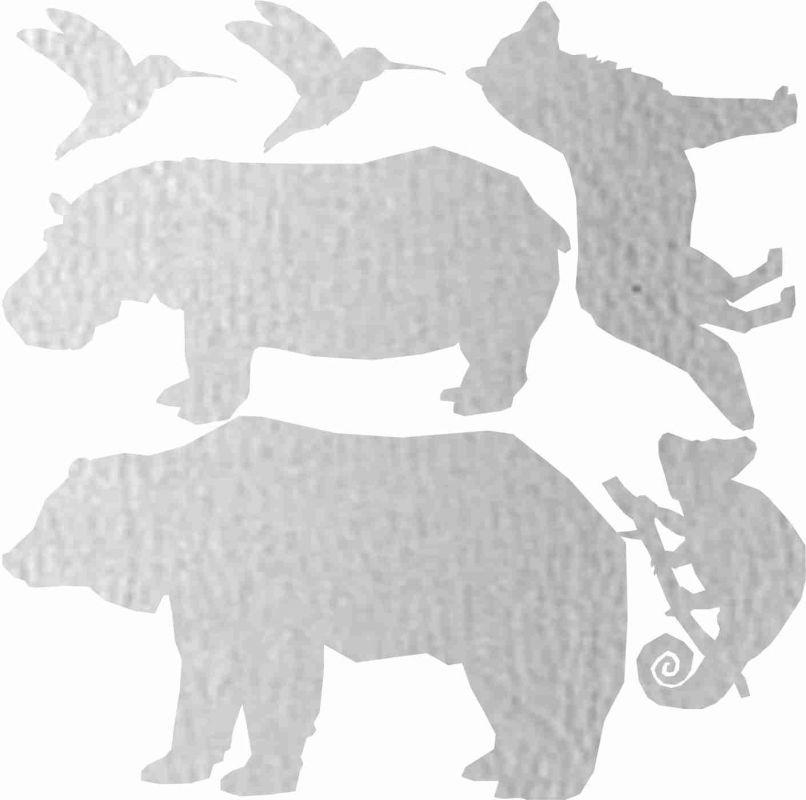 Nažehlovačka reflexka - zvířata 1 vyrobeno v EU