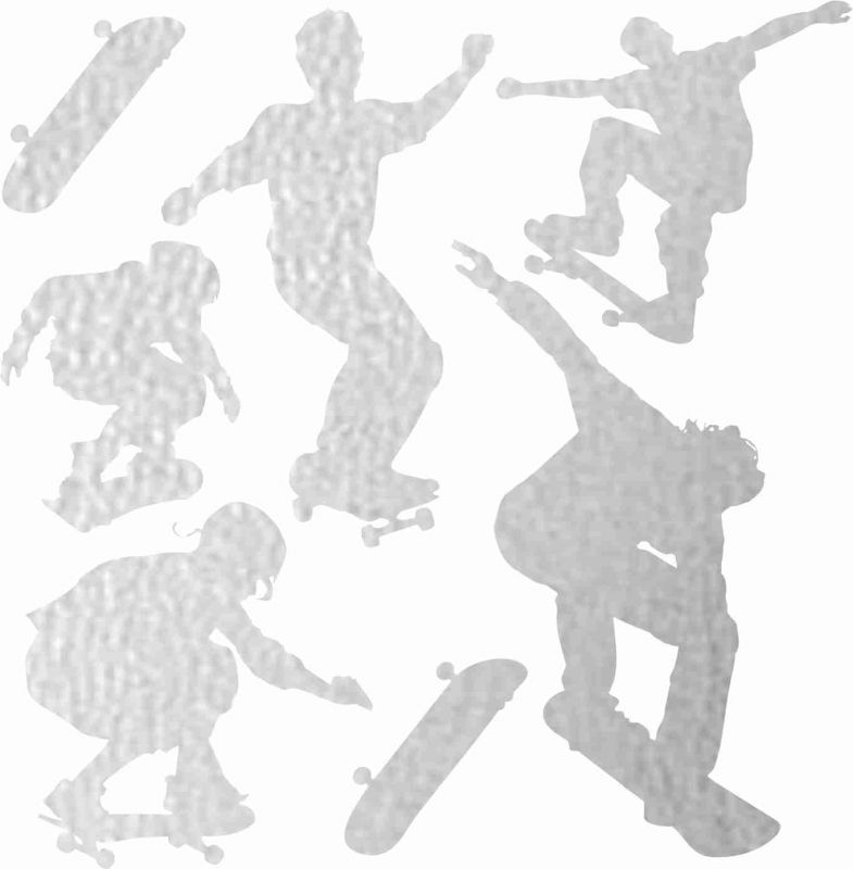 Nažehlovačka reflexka - skejťáci vyrobeno v EU