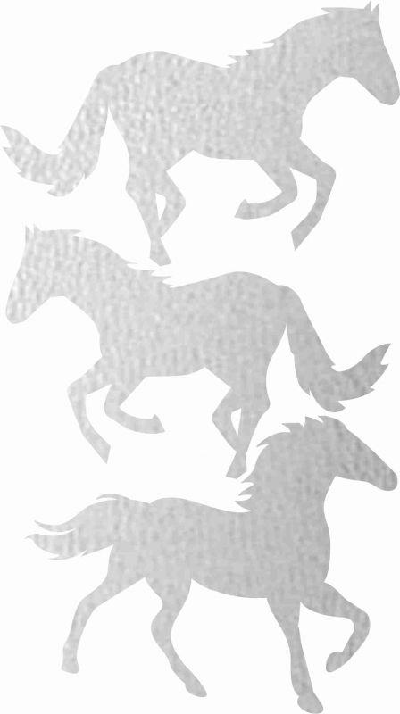 Nažehlovačka reflexka - koně vyrobeno v EU
