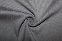Rib 2x2 tmavě šedá- mouse - barva 138