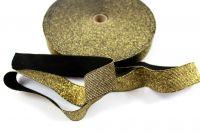 Pruženka metalická zlatá 30 mm